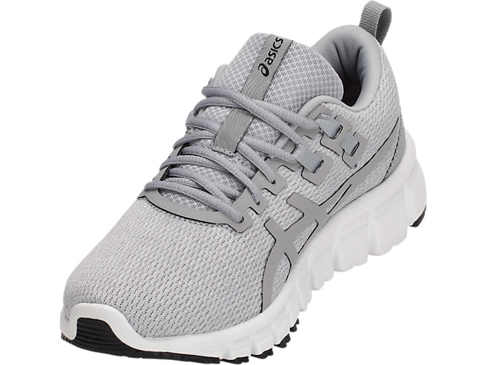 Front Left view of GEL-QUANTUM 90, MID GREY/MID GREY