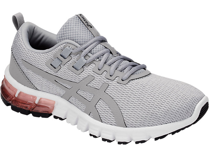 Front Right view of GEL-QUANTUM 90, MID GREY/MID GREY