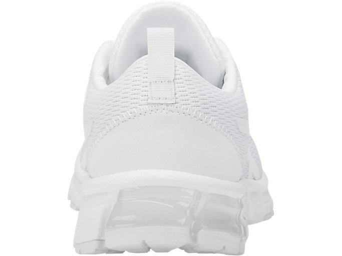Back view of GEL-QUANTUM 90, WHITE/WHITE
