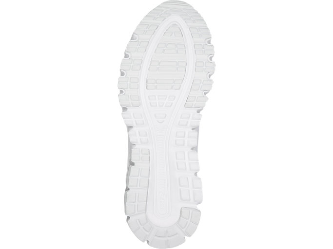 Bottom view of GEL-QUANTUM 90, WHITE/WHITE
