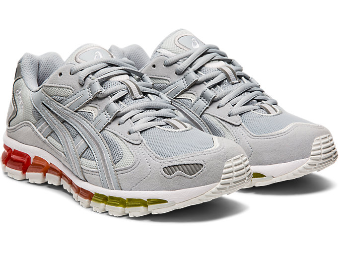 Front Right view of GEL-KAYANO 5 360, PIEDMONT GREY/PIEDMONT GREY
