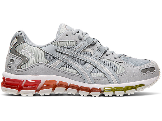 Right side view of GEL-KAYANO 5 360, PIEDMONT GREY/PIEDMONT GREY