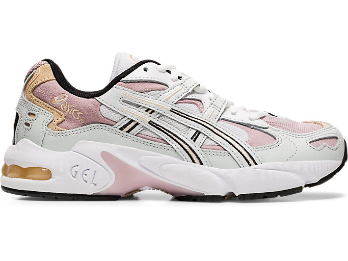 Right side view of GEL-KAYANO™ 5 OG, POLAR SHADE/WATERSHED ROSE