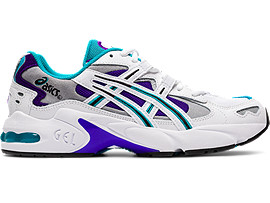 Right side view of GEL-KAYANO™ 5 OG, WHITE/ROYAL AZEL