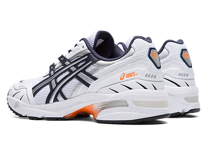 Front Left view of GEL-1090, WHITE/MIDNIGHT