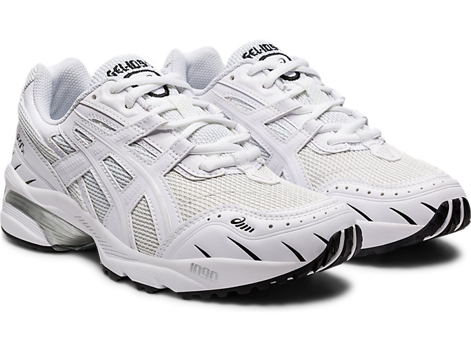 Front Right view of GEL-1090, WHITE/WHITE