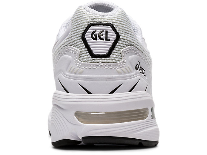 Back view of GEL-1090, WHITE/WHITE