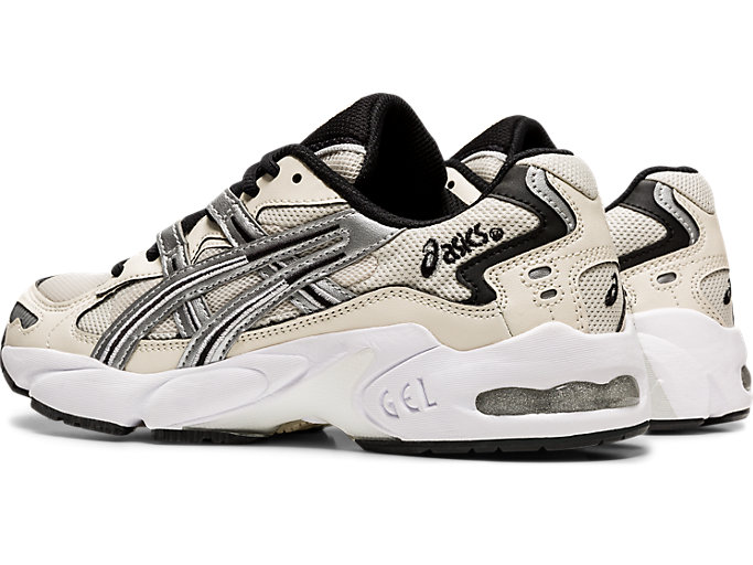 Front Left view of GEL-KAYANO 5 OG, BIRCH/SILVER