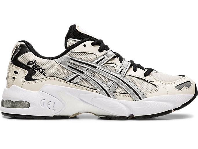 Right side view of GEL-KAYANO 5 OG, BIRCH/SILVER