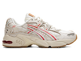 Right side view of GEL-KAYANO™ 5 OG, CREAM/WHITE