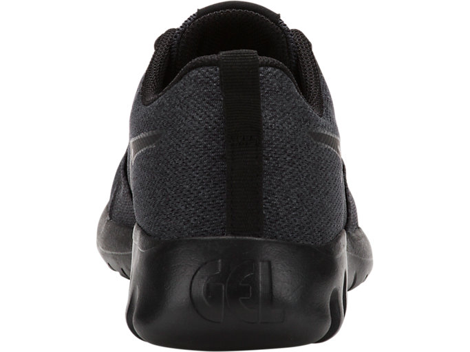 Back view of GEL-QUANTIFIER GS, DARK GREY/BLACK