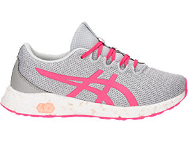 HYPERGEL-YU GS, MID GREY/PINK CAMEO