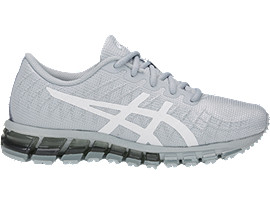 Right side view of GEL-QUANTUM 180 4 GS, MID GREY/WHITE