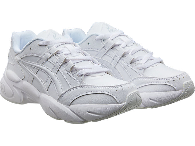 Front Right view of GEL-BND™ GS, WHITE/WHITE