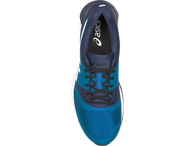 Top view of QUEST FF, RACE BLUE/WHITE
