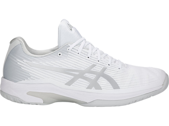 Men's SOLUTION SPEED™ FF | WHITESILVER | Tennis | ASICS