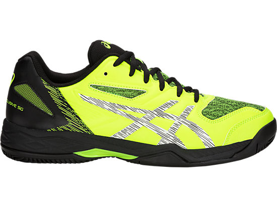 GEL-PADEL EXCLUSIVE 5 SG, FLASH YELLOW/WHITE