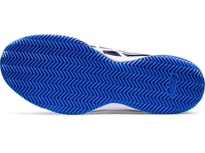Bottom view of COURT SLIDE™ CLAY, PEACOAT/BLUE COAST