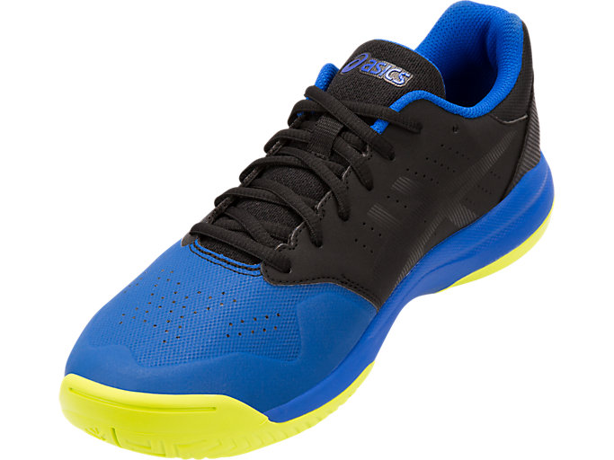 Front Left view of GEL-GAME™ 7, BLACK/ILLUSION BLUE