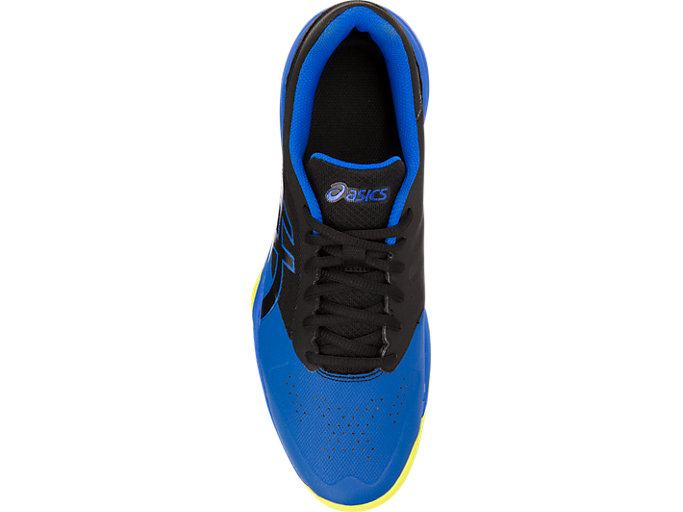 Top view of GEL-GAME™ 7, BLACK/ILLUSION BLUE