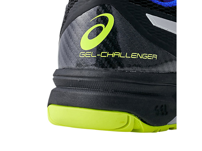 Alternative image view of GEL-CHALLENGER™ 12, BLACK/SILVER