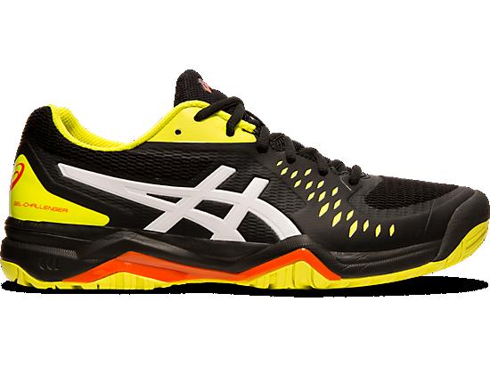 Asics Gel Challenger 12 Chaussure de tennis homme Noir