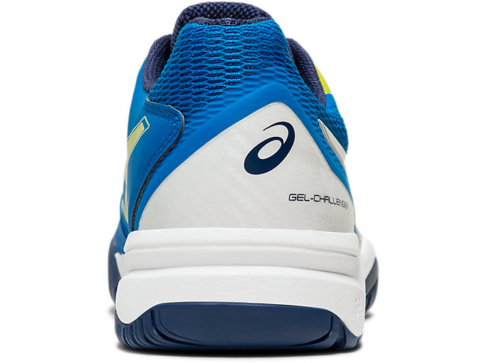 Back view of GEL-CHALLENGER™ 12, ELECTRIC BLUE/SILVER