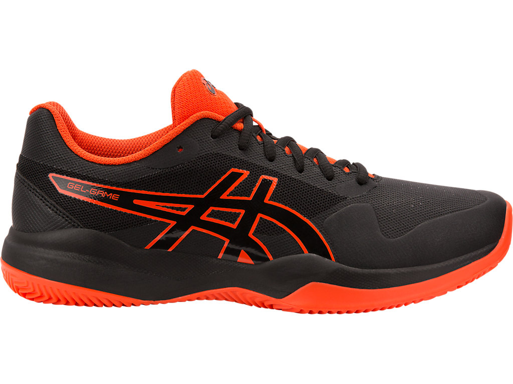 e008a1a34d08c GEL-GAME 7 CLAY/OC | BLACK / CYT | メンズ テニス シューズ | ASICS