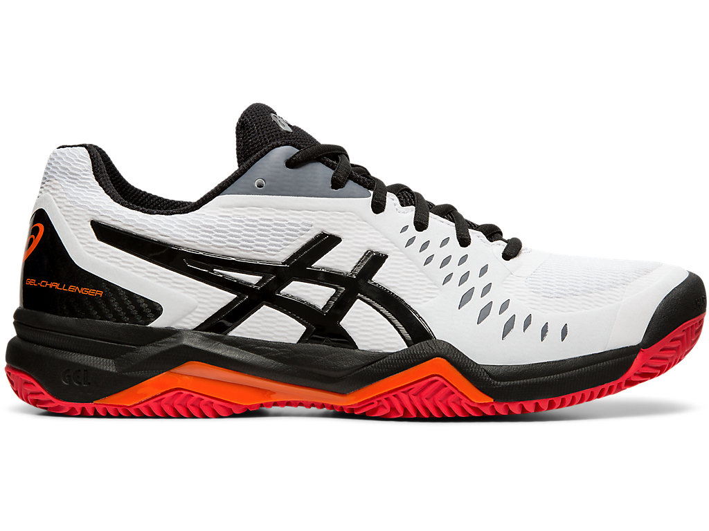 Men's GEL CHALLENGER™ 12 CLAY | WHITEBLACK | Tennis | ASICS