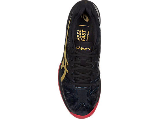 SOLUTION SPEED FF L.E. CLAY | MEN | BLACK/RICH GOLD | ASICS Russia