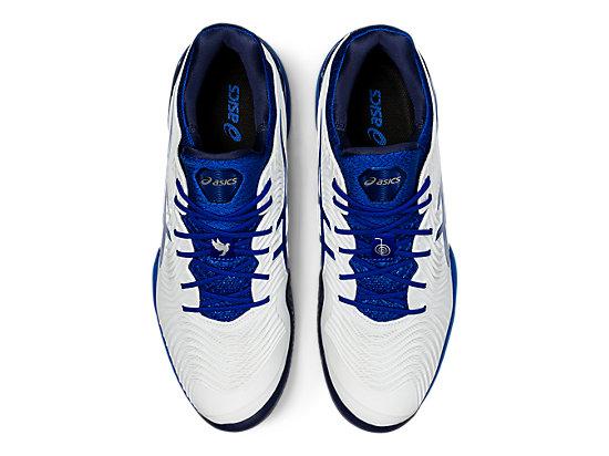 COURT FF NOVAK WHITE/ASICS BLUE