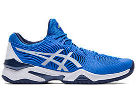 Right side view of COURT FF™, ELECTRIC BLUE/WHITE