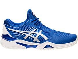 COURT FF NOVAK, ASICS BLUE/WHITE