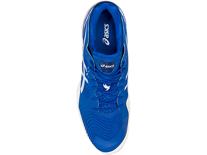 Top view of COURT FF™, ASICS BLUE/WHITE