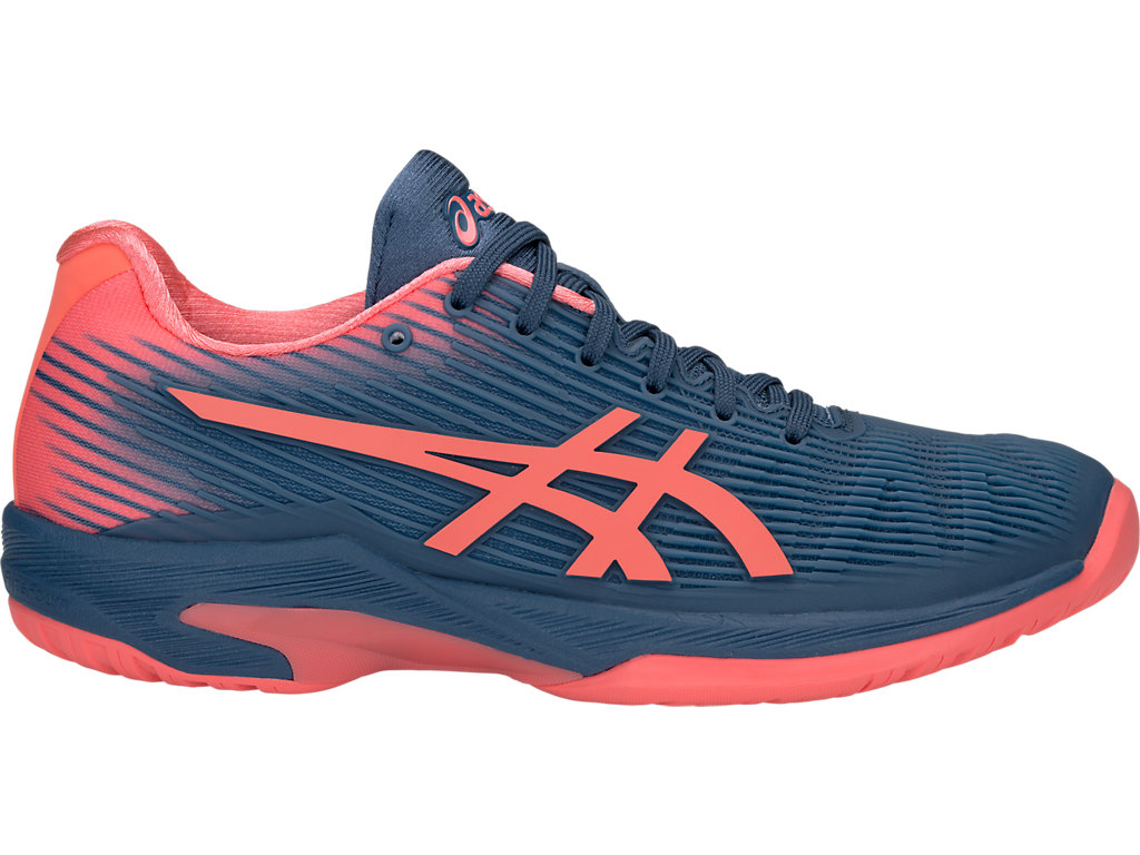 ASICS Solution Speed? FF Grand Shark / Papaya Mujer
