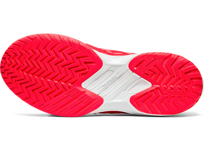 Bottom view of SOLUTION SPEED™ FF, LASER PINK/WHITE