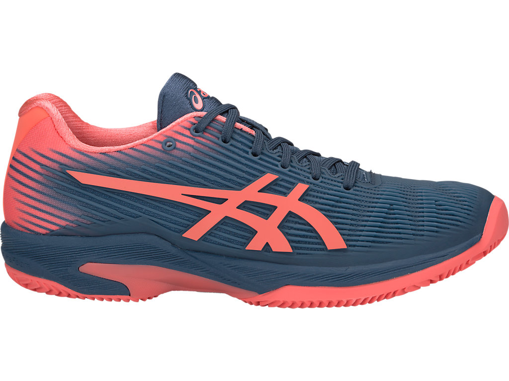 Asics Solution Speed FF Clay Women's Tennis Shoes Blue