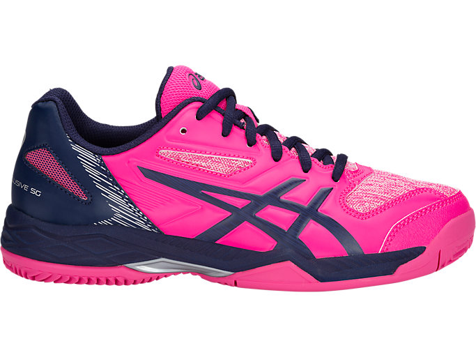 Right side view of GEL-PADEL™ EXCLUSIVE 5 SG, PINK GLO/PEACOAT