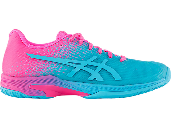 Women's Solution Speed FF L.E | AquariumHot Pink | Tennis