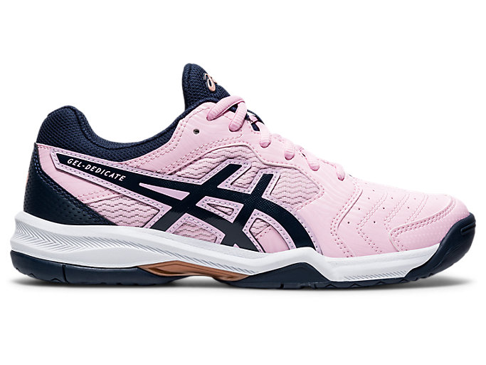 Women's GEL DEDICATE 6 | COTTON CANDYWHITE | Tennis | ASICS