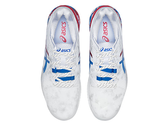 GEL-RESOLUTION 8 WHITE/ELECTRIC BLUE