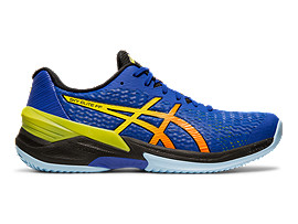 Right side view of SKY ELITE™ FF, ASICS BLUE/SOUR YUZU