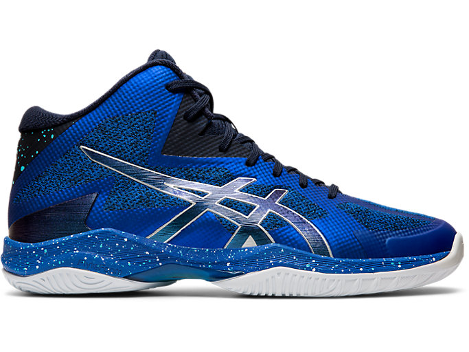 Right side view of V-SWIFT FF MT AWC, ASICS BLUE/MIDNIGHT