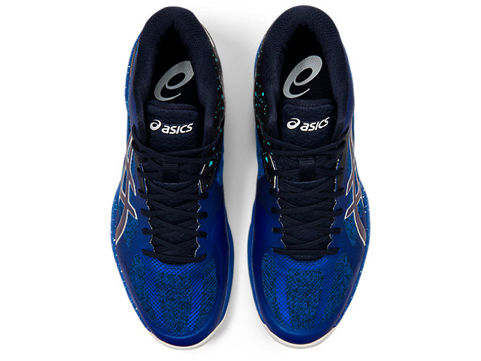 Top view of V-SWIFT FF MT AWC, ASICS BLUE/MIDNIGHT