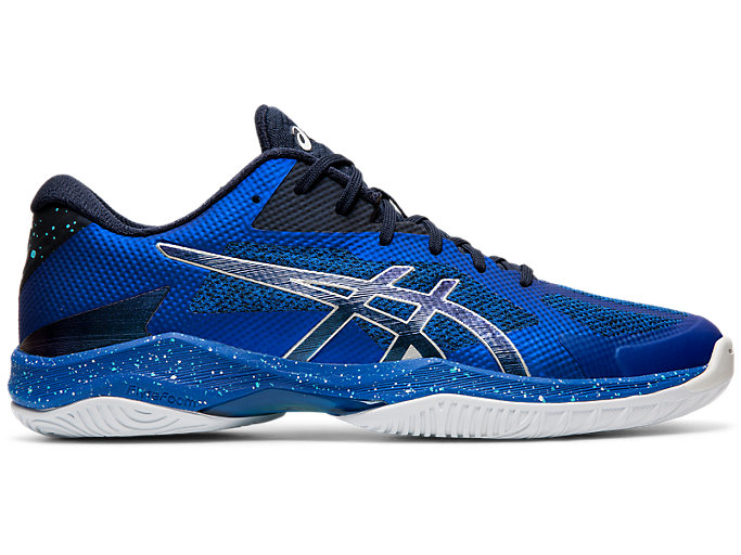 Right side view of V-SWIFT FF AWC, ASICS BLUE/MIDNIGHT