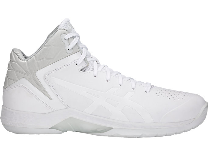 Right side view of GELTRIFORCE 3-wide, WHITE/WHITE