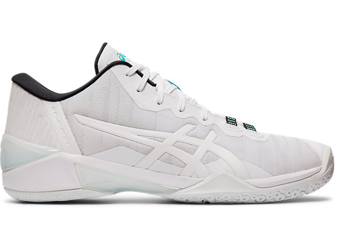 Right side view of GELBURST 23 LOW, WHITE/WHITE