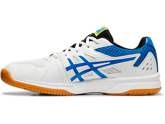 UPCOURT 3 WHITE/ELECTRIC BLUE