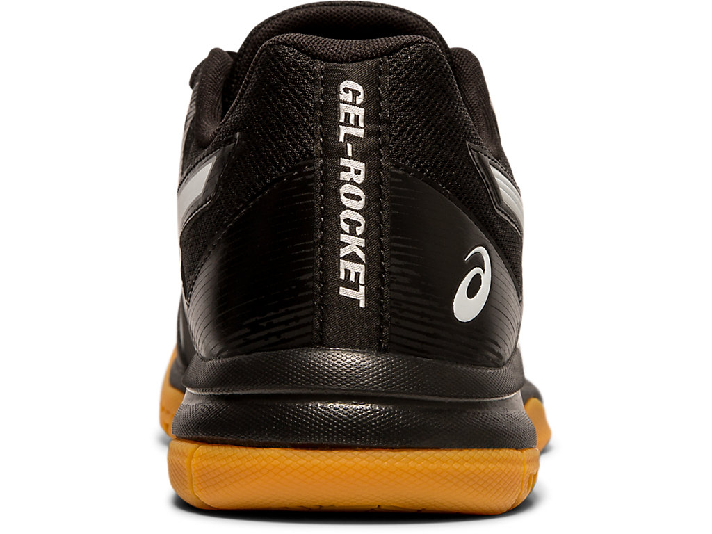 Men's GEL ROCKET™ 9 | BLACKWHITE | Volleyball | ASICS