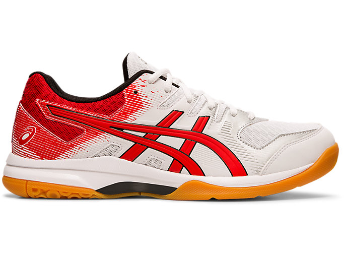 Men's GEL ROCKET™ 9 | WHITECLASSIC RED | Volleyball | ASICS